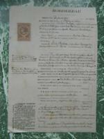 71 Alquitrán Acto Notariales Estado Granja Desbrosses 1883