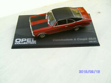 OPEL Commodore A coupé GSE - VOITURE MINIATURE COLLECTION - IXO 1/43 CAR AUTO-1