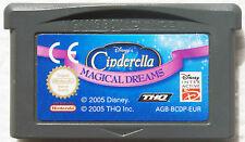 CINDERELLA MAGICAL DREAMS Cendrillon sur Nintendo GAME BOY ADVANCE GBA