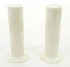 REDLINE HEX PRO MINI BMX BIKE HANDLEBAR GRIPS IN WHITE