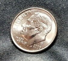 2009-D Bu Roosevelt Dime- Choice! 60 Year Low Mint of 49 Mil-Free Ship!
