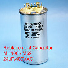 400W Oil filled Capacitor HID MH400 M59 24uF/400VAC ~~UL APPROVED~~