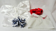 Build A Bear Bab Cheerleader pom-poms Shirt Graduation Gown Panties 4 pc Lot