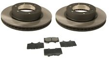 Pair of Front Disc Brake Rotors & Pads Kit Genuine for Toyota Tacoma 2005-2017