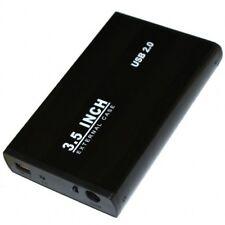 CARCASA CAJA DISCO DURO EXTERNO 3,5 SATA NEGRO USB EXTERNA NETBOOK PC PORTATIL