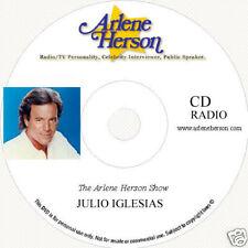 Julio Iglesias Interview four segments - 30 minutes CD
