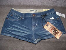 Zanadi Denim For Life Jean Shorts Size 3 (Legend)