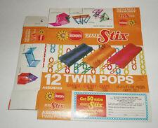 1975 Borden Elsie Stix Ice Cream Box