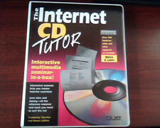 The Internet CD Tutor QUE 0-7897-0285-1 Workbook and CD FTP Archie Gopher