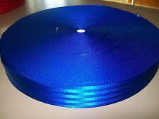 100 MT ROLL 50MM ROYAL BLUE SEAT BELT WEBBING