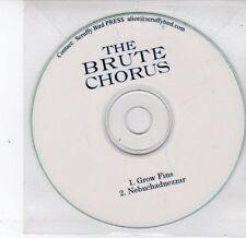 (DS228) The Brute Chorus, Grow Fins / Nebuchadnezzar - DJ CD