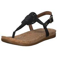 UGG Australia Damen klassische Sandale Schwarz