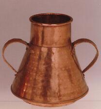 Medidor para vino hecho a mano en cobre. Wine meter handmade copper