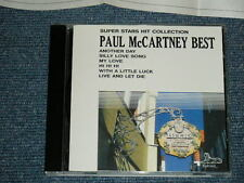 PAUL McCARTNEY BEATLES Japan Only 1989 NM CD SUPER STARS HIT COLLECTION