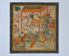 An Antique Framed Indian Minature Painting