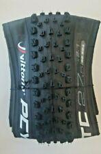 2 of 27.5 X 2.10 Mountain Bike Tyres Vittoria Peyote & 2 Presta Tubes 560gr Each
