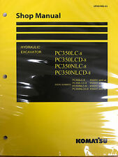 Komatsu PC300-8 PC300LC-8 PC350-8 PC350LC-8 Service Repair Printed Manual