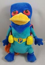 Disney Phineas & Ferb Perry the Platypus Mission Marvel Plush 15 inches Stuffed