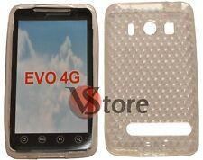 Cover Custodia Per HTC EVO 4G Trasparente Gel Silcone TPU Diamond