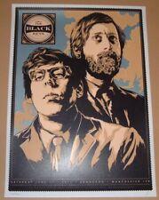 The Black Keys Bonnaroo Festival Ken Taylor Signed Numbered Poster Print Art