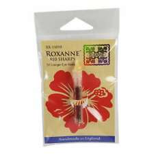 Colonial Needle Roxanne Sharps Hand Needles-Size 10, Pack of 50