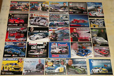 """""""MONSTER"""" COLLECTION OF """"100"""" DIFFERENT IHRA/NHRA PRO STOCK DRAG RACING HANDOUTS"""