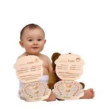 Children Tooth Box Kinderzahnbox Organizer Für Primäre Zähne Aus Holz Für Kinder