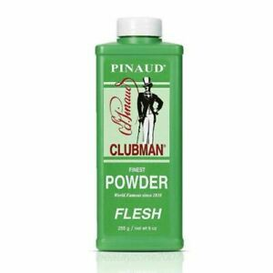 Clubman  Pinaud Finest Powder FLESH 9 oz (3 PACK)