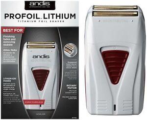 Andis 17150 Profoil Lithium Titanium Foil Shaver Cord Cordless Hypo-Allergenic