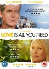 LOVE IS ALL YOU NEED PIERCE BROSNAN TRINE DYRHOLM ARROW UK REGION 2 DVD NEW