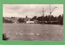 Sailing Ship The Thames Caversham Nr Reading RP pc used 1912 Ref F827