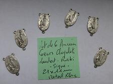 lot de 6 ancien coeur de chapelet  LAMBERT RUCKI boucle d/'oreille ANCIEN STOCK