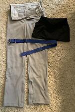 Base Ball Boys Pants And Belt Nice Size L W/xl Shorts Black