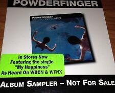 Powderfinger Album Sampler CD Aus Promo Rare 2001 From Album Odyssey Number Five