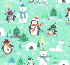 Makower Frosty Patchworkstoff Stoff Weihnachten Patchwork Weihnachtsstoff Kinder