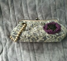 Ladies Lace Clutch Bag / Purse By Chilli Pepper