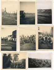 Nr. 29485  8 x Foto Deutsche Wehrmacht Einmarsch Polen Bilder des Krieges