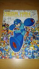 Mega on Official Complete Works Capcom art book artbook ENGLISH ANGLAIS