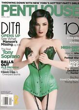 PENTHOUSE MAGAZINE APRIL 2007 DITA VON TEESE OPENS UP