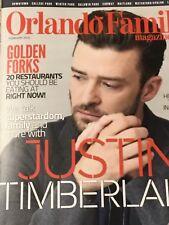 Justin Timberlake Orlando Family magazine February 2018