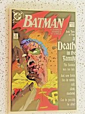 Batman #428 1st Printing DC Book Three of Four A Death in the Family VF/NM 9.0