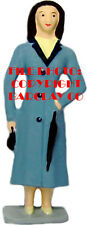 Woman Standing, Holding Umbrella & Purse - New Barclay Production