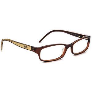 Dolce Gabbana Eyeglasses D&G 4160 168 Dark Brown/Gold Frame Italy 51[]15 135