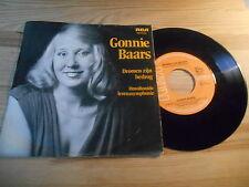 """7"""" Pop Gonnie Baars - Dromen Zijn Bedrog (2 Song) RCA VICTOR REC"""