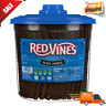 Red Vines Black Licorice Twists, Fat Free, Soft & Chewy Candy, 3.5lb Jar