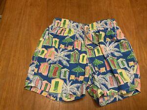 Vilebrequin Swim Shorts Trunks L Large Floral