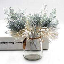 Christmas Artificial Flowers Pine Flower Fake Flower Wedding Party DIY Decor d