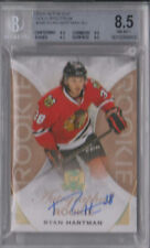 2015-16 The Cup RYAN HARTMAN GOLD AUTO Chicago Blackhawks BGS 8.5