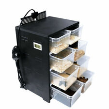 Acrylic Feeding Box Reptile Breeding Cabinet Insect Spider Turtle Cage Lizard Us