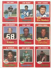 1971 OPC CFL PART SET...66/132 WITH STARS!!!